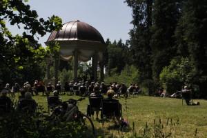 Der Monopteros im Schacky-Park