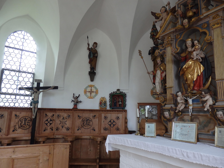 Die Kapelle von Bierdorf (Copyright: Brigitte Bergmaier)