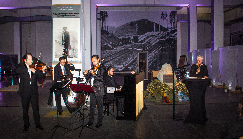 Gedenkkonzert Janoska Ensemble im Bunker Landsberg
