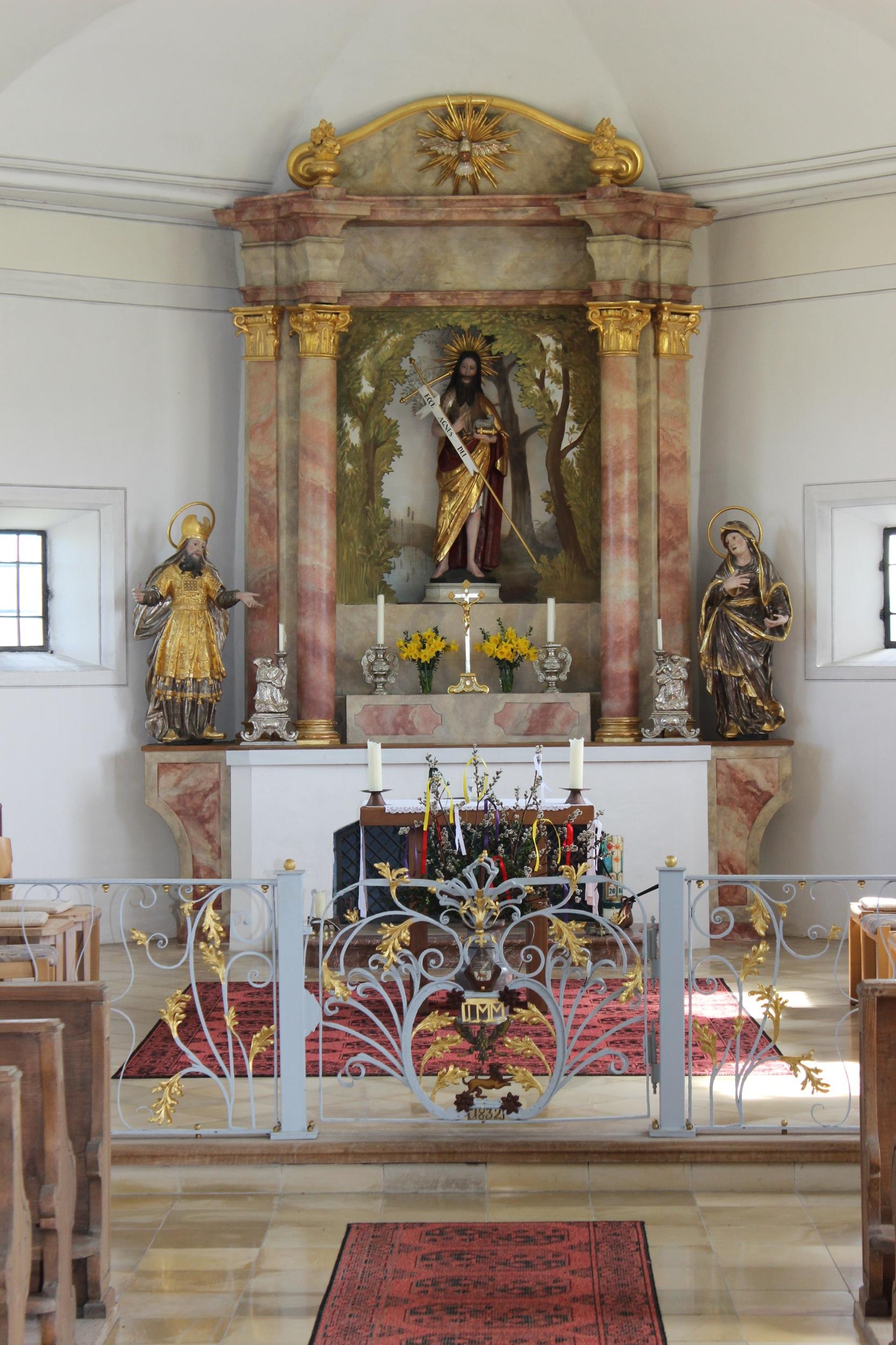 Die Kapelle von Raisting (Copyright: Brigitte Bergmaier)