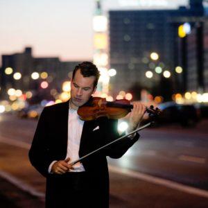 Geigenvirtuose Daniel Röhn