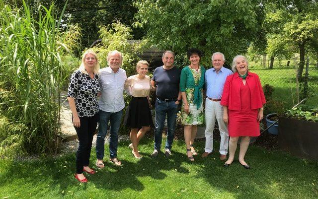 (v.l.) Ariane Bergstermann-Casagrande, Christoph Barth, Anna Kessler, Prof. Dr. Jens Wendland, Barbara Wolf-Riedrich, Hans-Joachim Scholz, Doris Pospischil