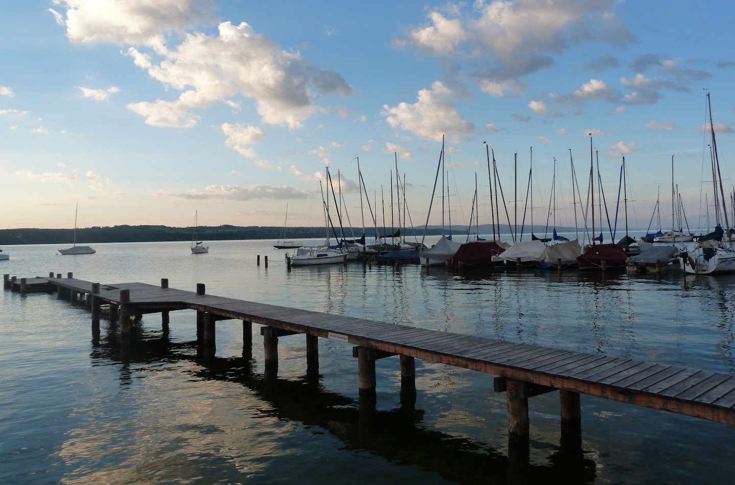 Morgen am Ammersee