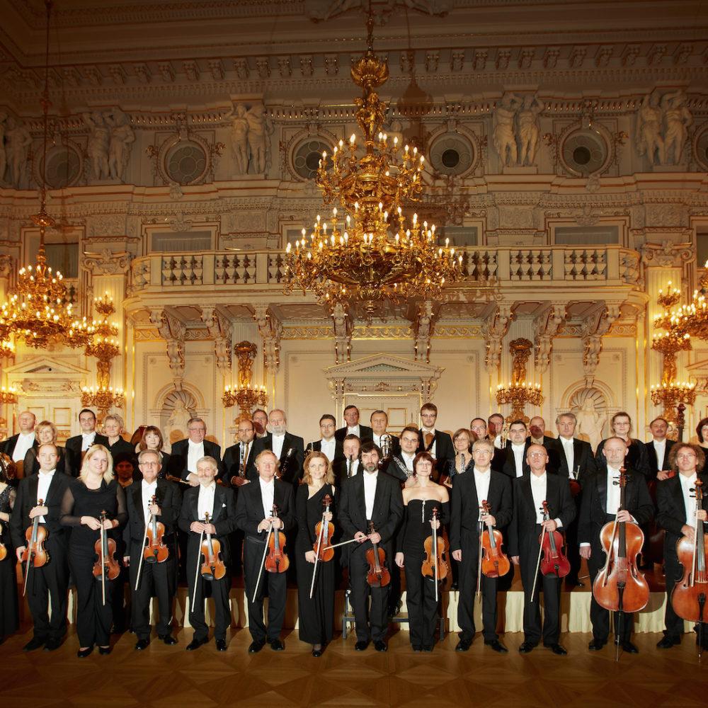 Symphonieorchester des Nationaltheaters Prag im Spanischen Saal der Prager Burg